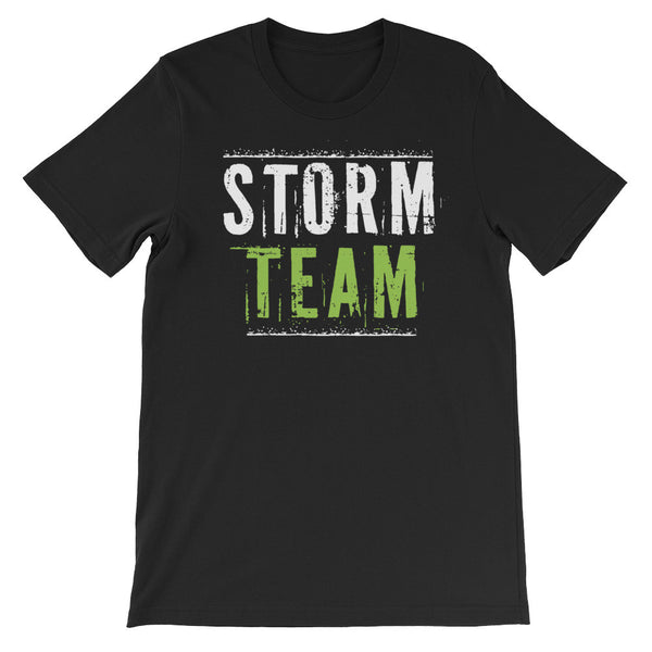 STORM TEAM Unisex short sleeve t-shirt