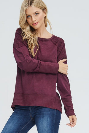 Knit Hi-Low Sweater