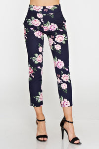 Flower Capri Pants