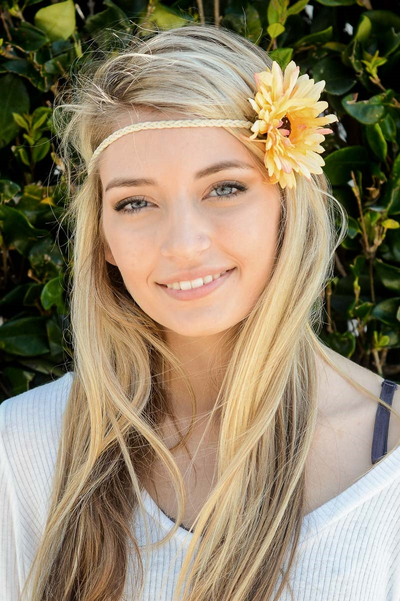 Large Daisy Headband