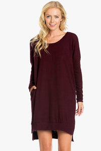 Sweater Tunic Dress