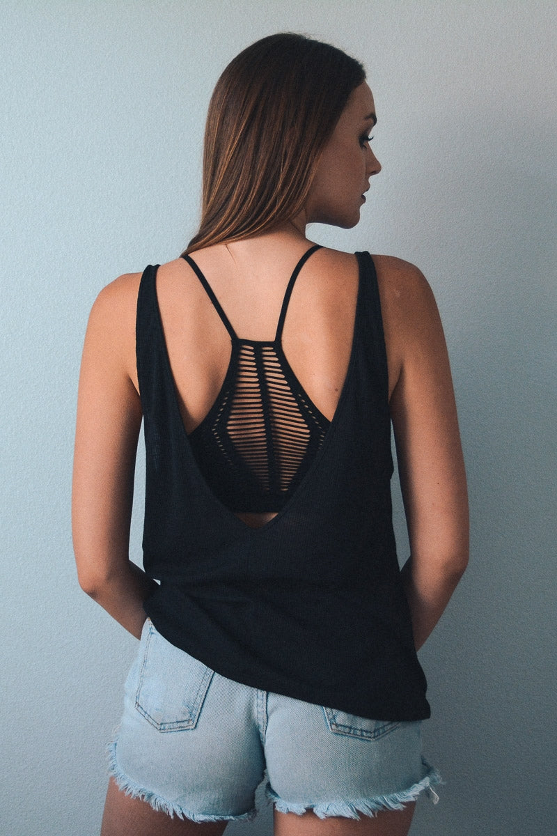 Seamless Slash Racer Back Bra