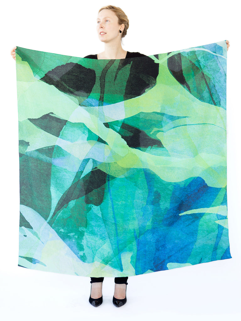 Ink Cape Sea Green - Large