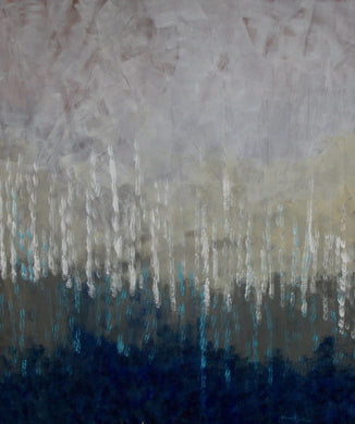 Rain 2 Original Abstract Painting. - Daydreams Studio