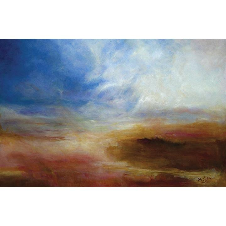 Hope abstract landscape giclee on canvas - Daydreams Studio
