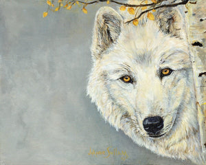 White Wolf Giclee Print - Daydreams Studio