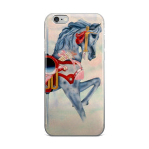Carousel Horse iPhone 5/5s/Se, 6/6s, 6/6s Plus Case - Daydreams Studio