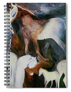 The Dream Horses - Spiral Notebook - Daydreams Studio