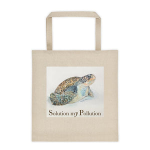 Green Turtle Tote bag - Daydreams Studio