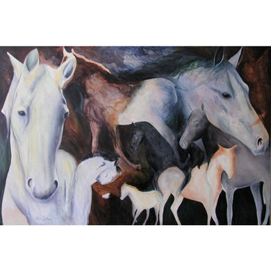 The Dream of Horses Giclee on paper. - Daydreams Studio