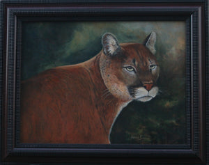 """Portrait of a Mountain Lion"" - Daydreams Studio"