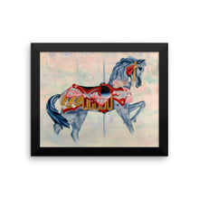 Carousel Horse Framed poster - Daydreams Studio
