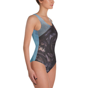 Black Panther One-Piece Swimsuit - Daydreams Studio