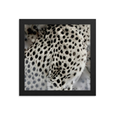 Cheetah spots Framed poster print - Daydreams Studio
