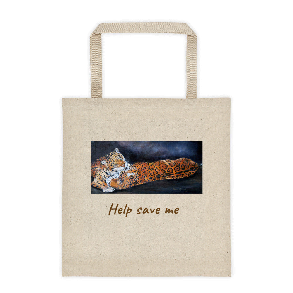 Jaguars  Tote bag - Daydreams Studio
