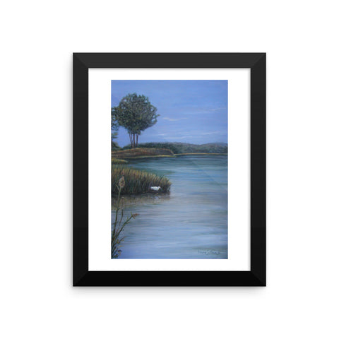 Harmony a Framed photo paper poster