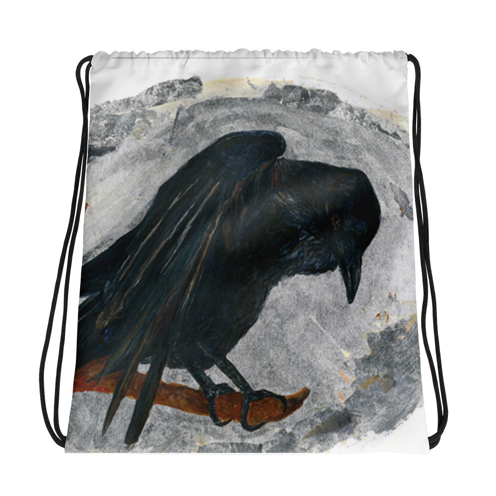 Raven Magic Drawstring bag - Daydreams Studio