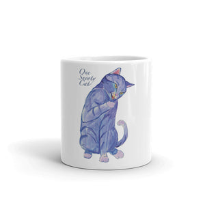 One Snooty Cat Mug made in the USA - Daydreams Studio