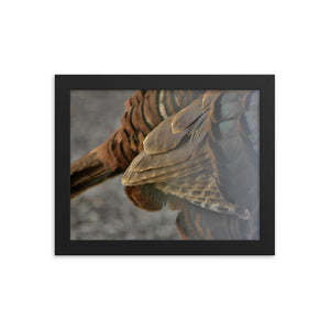 Feathers Framed poster - Daydreams Studio