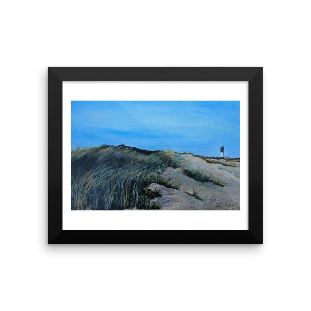 The lighthouse Framed photo paper poster - Daydreams Studio