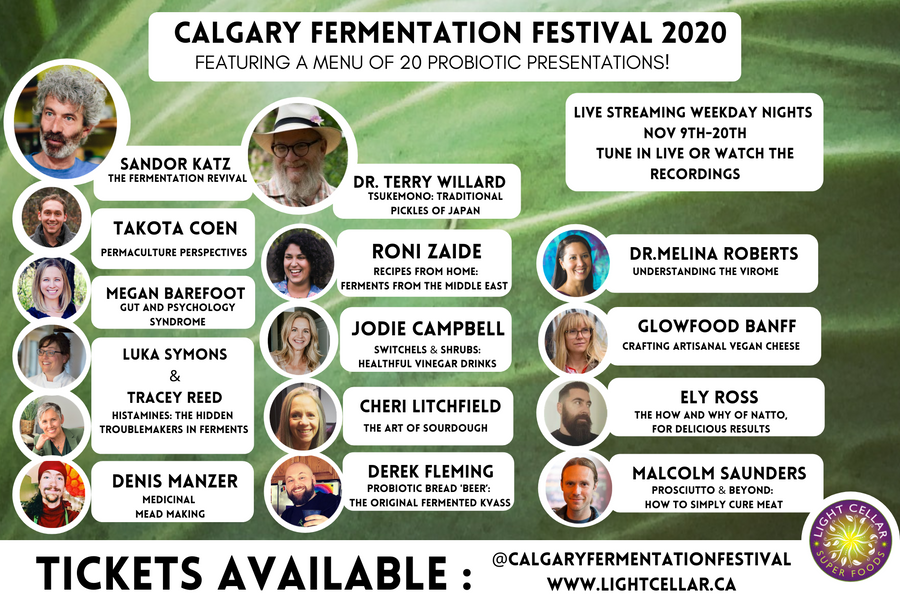 3rd Annual Fermentation Festival: November 9th - 20th, 2020