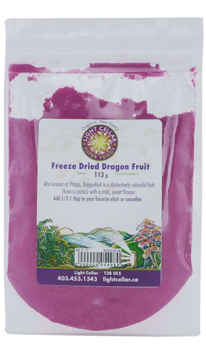 Freeze Dried Dragon Fruit