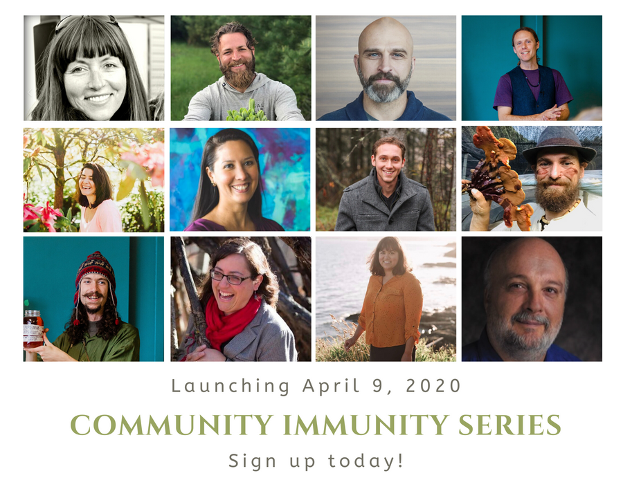 Community Immunity: A Grassroots Perspective on Building Physical Health, Mental Resilience and Emotional Calm During Uncertain Times