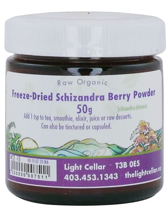 Schizandra Berry Powder - Freeze Dried
