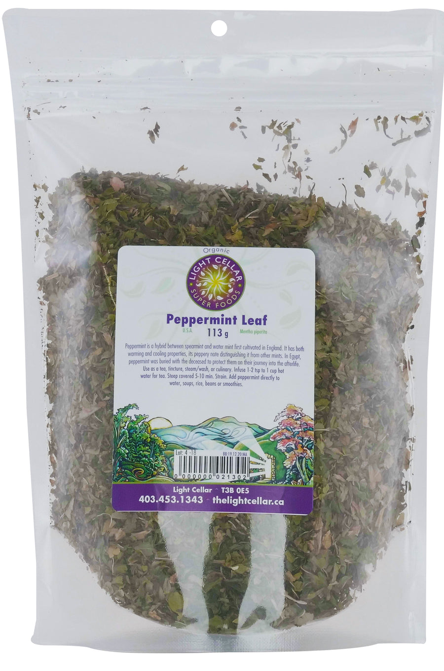 Peppermint Leaf 113g