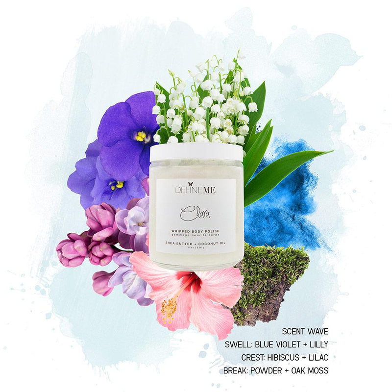 CLARA WHIPPED BODY POLISH DefineMe Fragrance