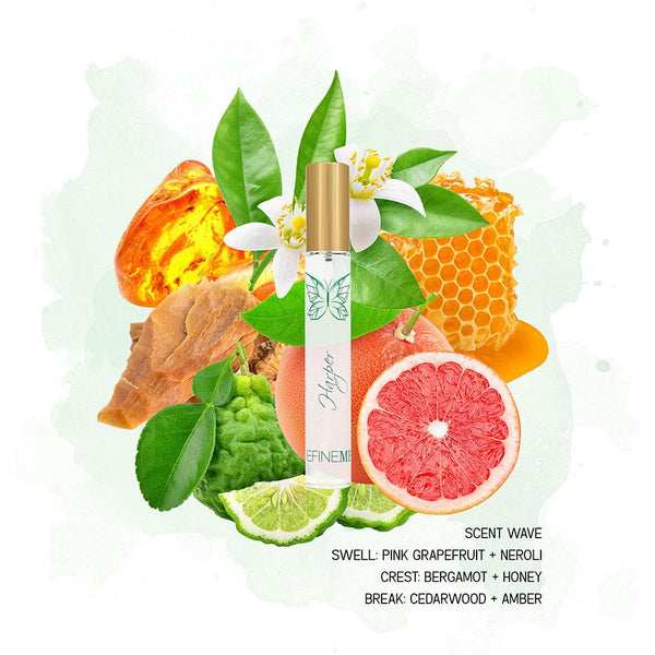 HARPER NATURAL PERFUME MIST - TRAVEL SPRAY DefineMe Fragrance