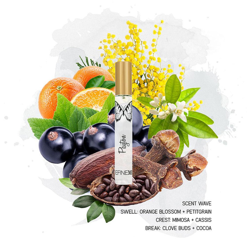 PAYTON NATURAL PERFUME MIST - TRAVEL SPRAY DefineMe Fragrance