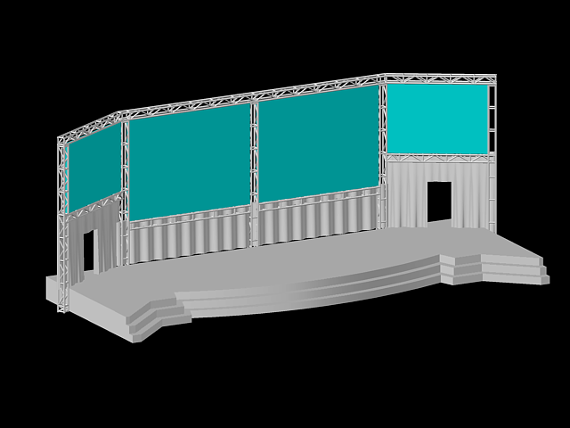 60' X 21' P Stage PM - CSE3D Stages PM x-Plane 11 CSE3D Chicago Stage Equipment