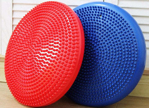 Challenging Your Balance System - Balance Board Plate With Pump - Kai Fit Life, Exercise Equipment