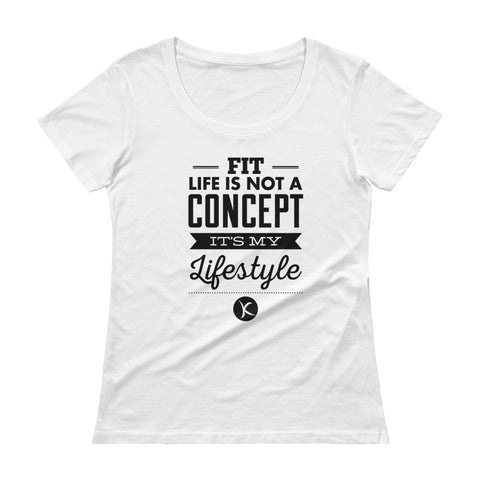 Fit Life Is Not A Concept, It's My Lifestyle. Get $6 Off TODAY! - Kai Fit Life, T-Shirts