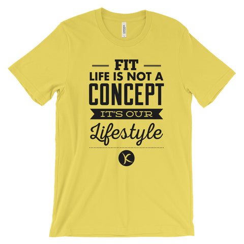 Fit Life Is Not A Concept, It's Our Lifestyle. Get $5 Off TODAY! - Kai Fit Life, T-Shirts