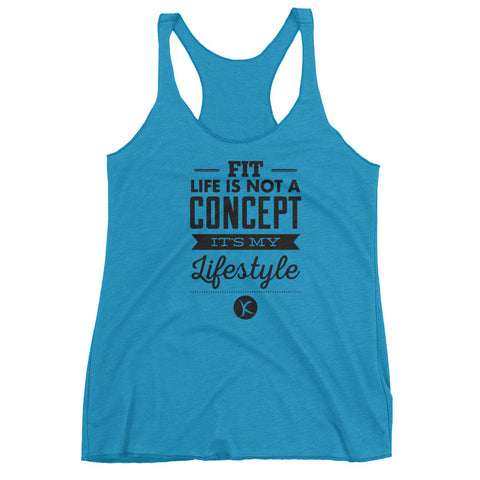 Fit Life Is Not A Concept, It's My Lifestyle. Get $6 OFF TODAY! - Kai Fit Life, Tanks
