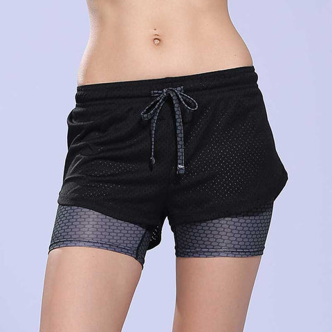 Feel Free While You Exercise - Fitness Ladies Running Shorts - Save $4 OFF Today!
