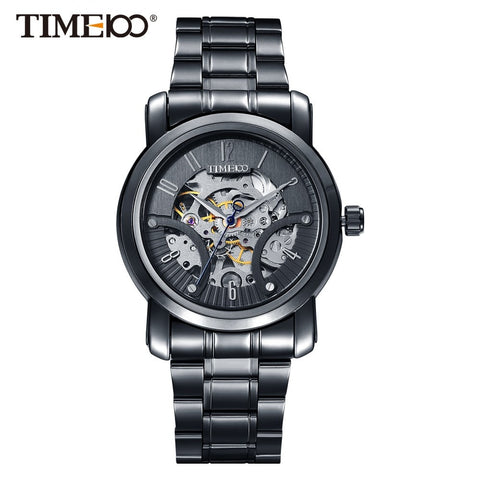 Edward-Men's Skeleton Watch