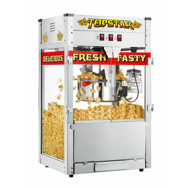 Great Northern Popcorn 12 Ounce Commercial Bar Style Popcorn Popper Machine  12oz