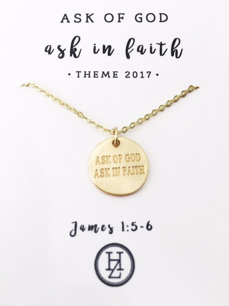 HayleeZ 2017 Theme Pendant Necklace