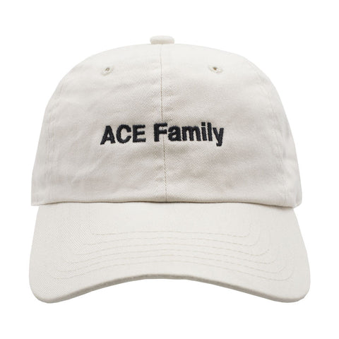 ACE Family Member Dad Hat - Beige