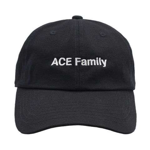 ACE Family Member Dad Hat - Black