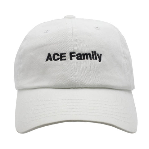 ACE Family Member Dad Hat - White