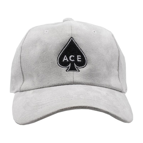 ACE Dad Hat - Grey Suede
