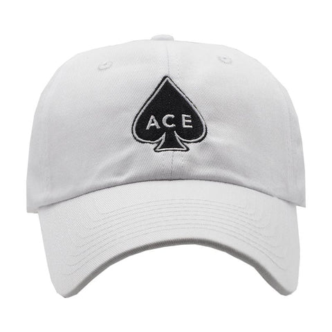 ACE Dad Hat - White
