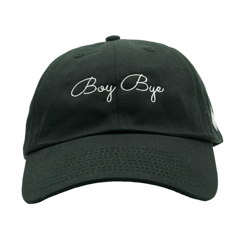 Boy Bye Dad Hat - Black