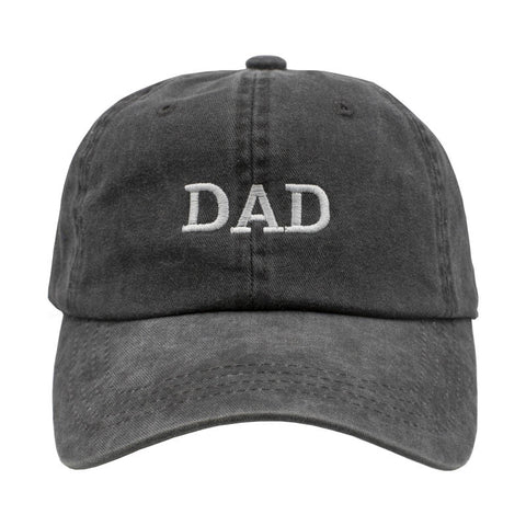 DAD Dad Hat - Washed Black