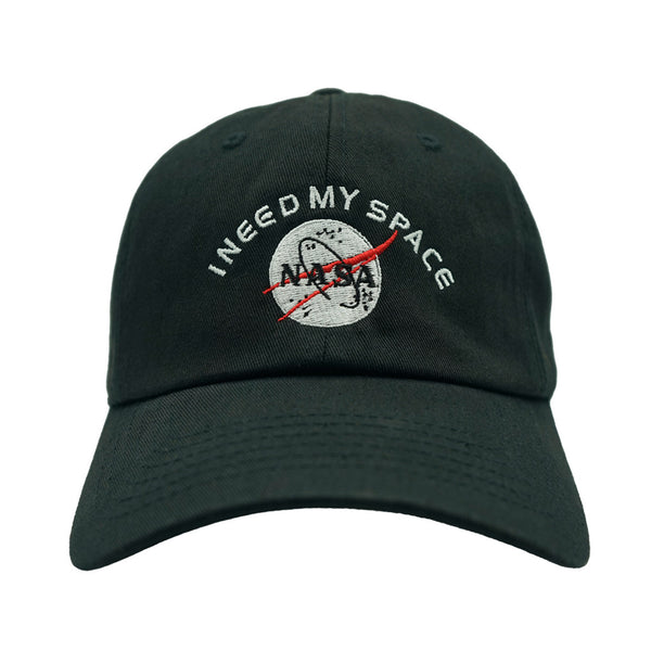 I Need My Space Dad Hat - Black