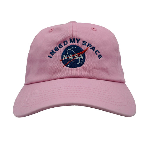 I Need My Space Dad Hat - Pink